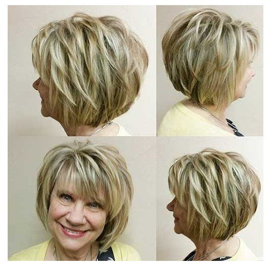53 Awesome Short Layered Haircuts for Older Women (Updated 2021) 1a00169f1f8b3e7aea303e351bff1d49