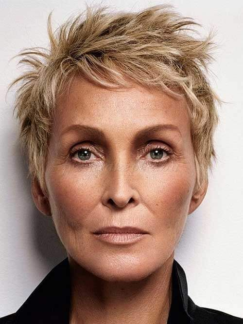 100 Short Haircut Styles for Over 60 Women in 2021 20322361d91110f852e6b28fe6442cfd