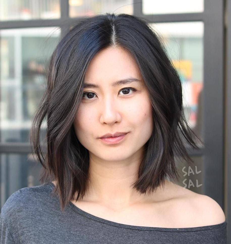 26 Gorgeous Short Hairstyles of Asian Women (Updated 2021) 2395e4453280f082e107fce3a3ec52f2
