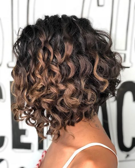 Thick medium curly bob for black hairstyles