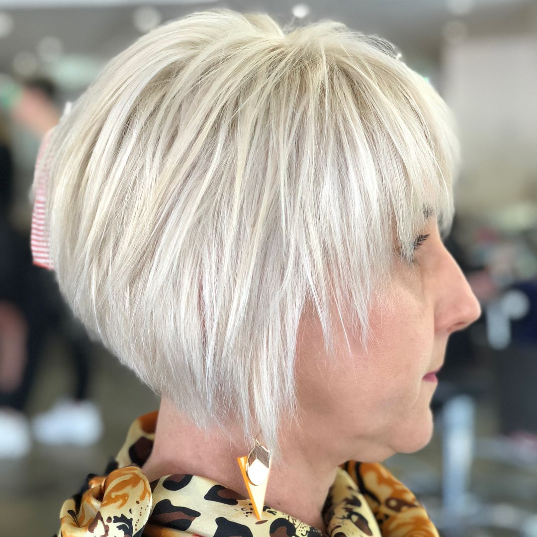 100 Short Haircut Styles for Over 60 Women in 2021 2a72186d00f70f9971a318087f239e53