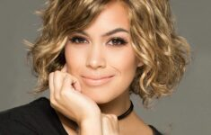 11 Types of Short Wavy Hairstyles for Women Over 50 (Updated 2021) 2ab56d9fd7a1ee621090946e8f2c93ef-235x150