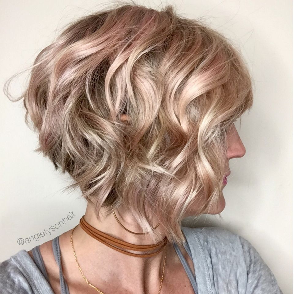 11 Types of Short Wavy Hairstyles for Women Over 50 (Updated 2021) 2e90e114801265b5aa4479ba58dab03b