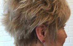 11 Types of Short Wavy Hairstyles for Women Over 50 (Updated 2021) 3df017e110db68134ca4838c54dbccc3-235x150