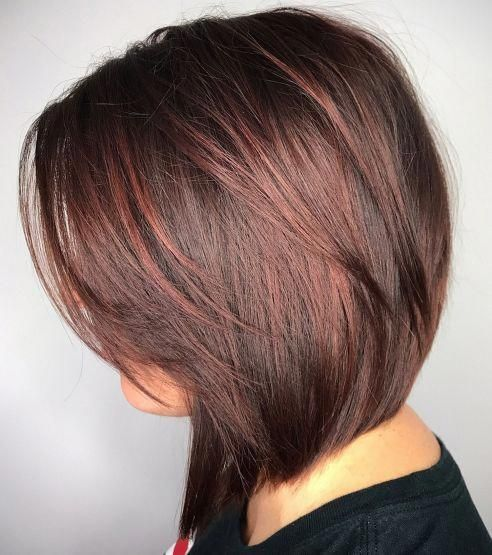 Short layered haircuts for older women