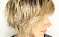 11 Types of Short Wavy Hairstyles for Women Over 50 (Updated 2021) 41f08359fc8089f31f38d98fea7a3832-235x150