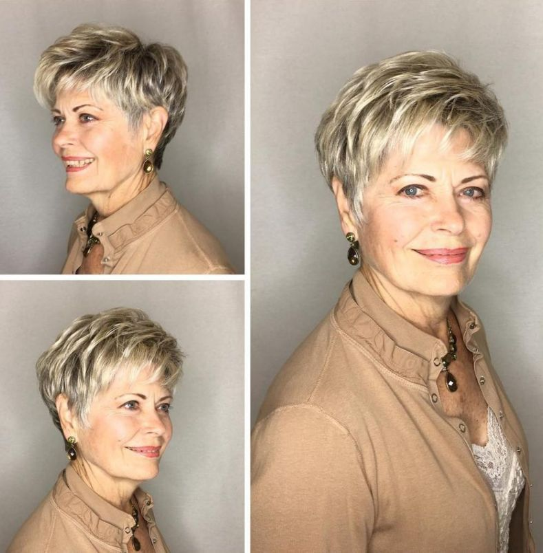 40 Professional Short Haircuts for Women Over 60 (Updated 2021) 455df11a4a4450285ea7c916a9dafa52