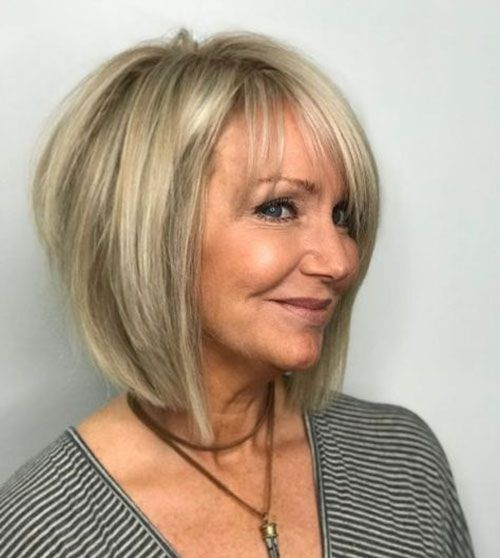 100 Short Haircut Styles for Over 60 Women in 2021 4c915e1e55c60933d5a8fdd3e95df7af