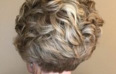 11 Types of Short Wavy Hairstyles for Women Over 50 (Updated 2021) 4fa609fb2e659b58a69ca19be1221812-235x150