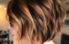 11 Types of Short Wavy Hairstyles for Women Over 50 (Updated 2021) 523179b072981616f5ac408dfdccd61c-235x150
