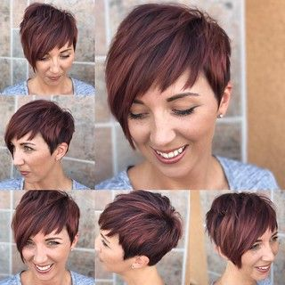 10 Fresh Looking Short Haircuts with Bangs for Older Women (Updated 2021) 52ea0c1fe7e4f3efc8d0ebe4c1199508