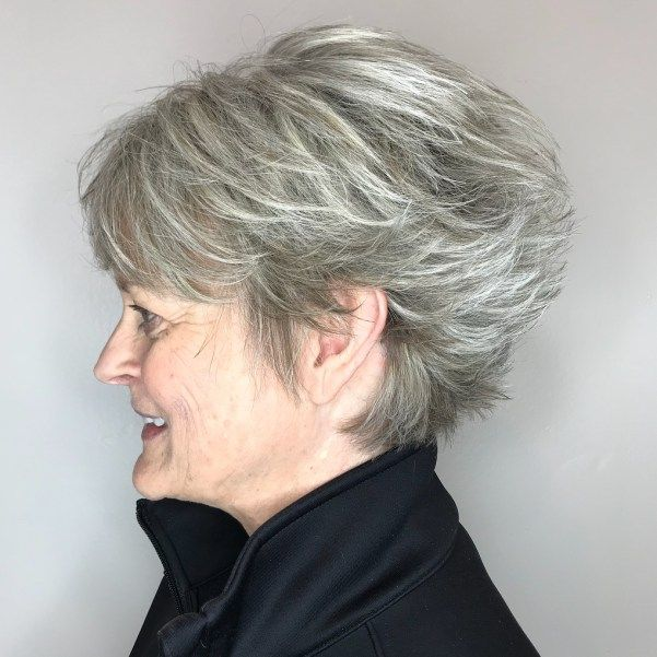 40 Pretty Short Hairstyles for Women Over 50 with Thin Hair (Update 2021) 56e91b698be6bccb5951452ff785d8f0
