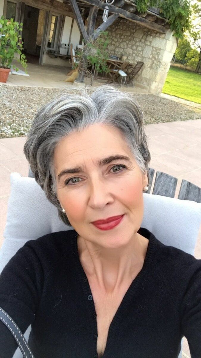 53 Awesome Short Layered Haircuts for Older Women (Updated 2021) 59095807ca99cc08ac21739e5f7ce185