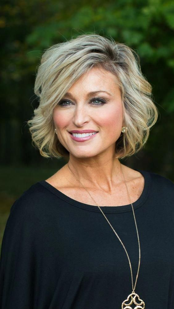 50 Cute Short Hairstyles for Women Over 60 (Updated 2021) 73e0626b001a885131fe4915f0d9ac6d