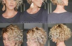 11 Types of Short Wavy Hairstyles for Women Over 50 (Updated 2021) 7699d29e36f3a807b23a5a127fde4317-235x150