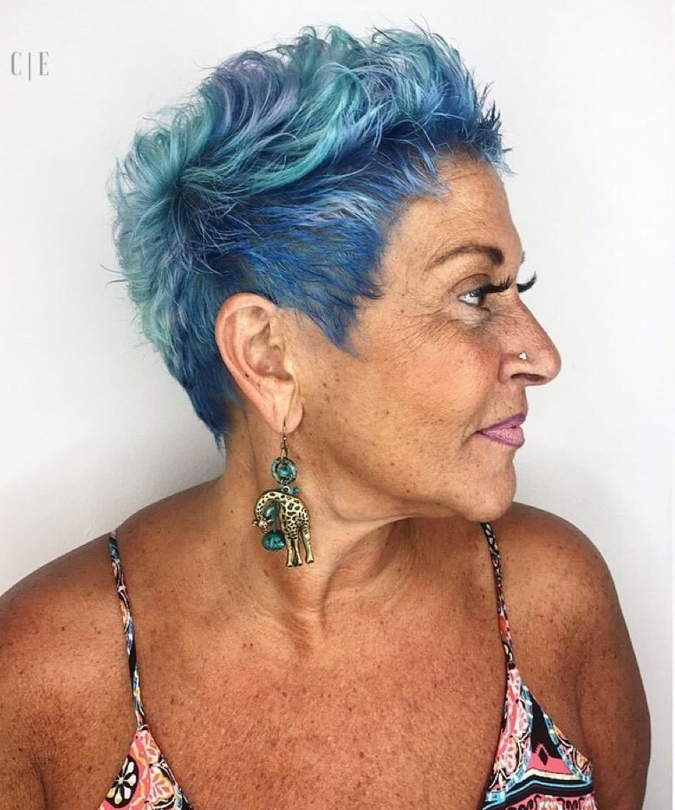 100 Short Haircut Styles for Over 60 Women in 2021 86b36d4924b59e50ae87d79ae4730aa9
