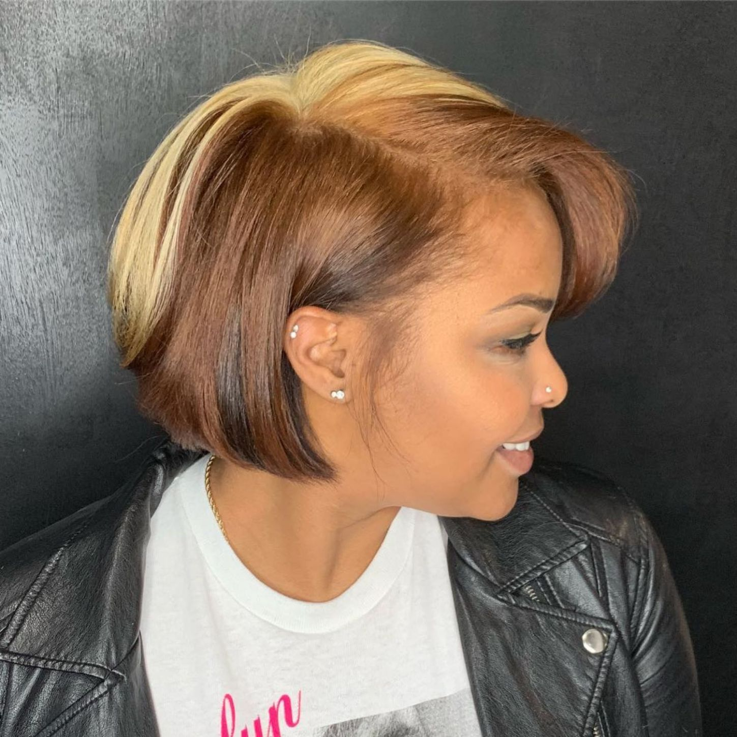 Cute black bob haircuts
