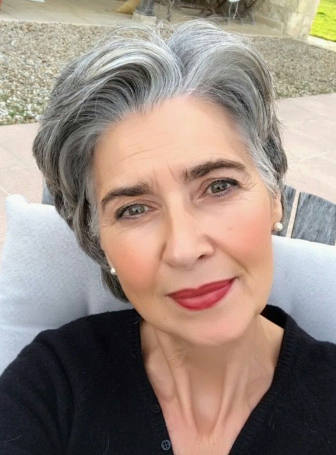 40 Professional Short Haircuts for Women Over 60 (Updated 2021) 8ce7ff44d740ca19d0f0e96ccd758c51