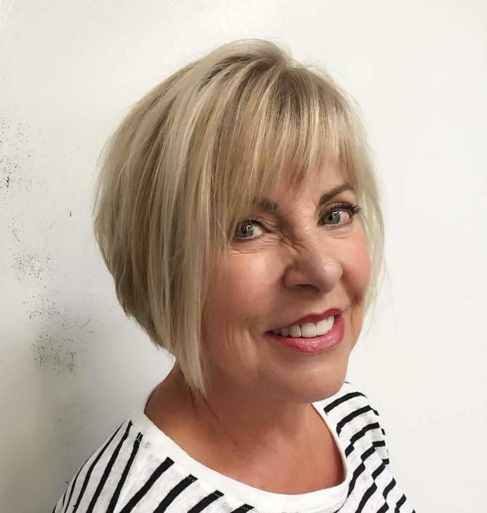 50 Cute Short Hairstyles for Women Over 60 (Updated 2021) 9119d3ae9324e331c84bf6e844436df0