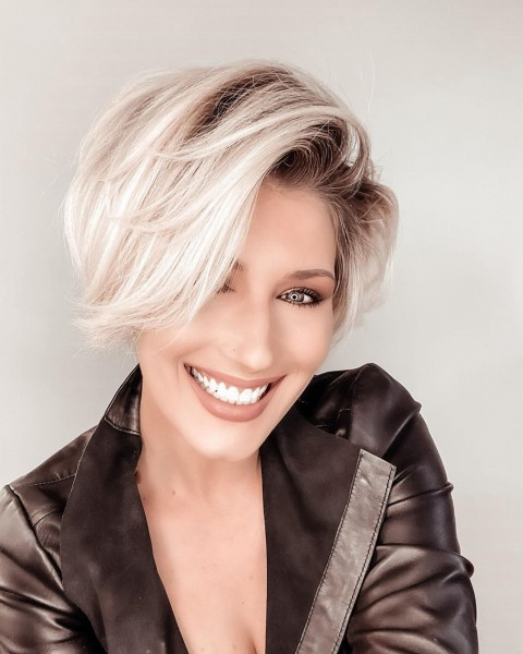 50+ Attractive Short Hairstyles for Women Over 60 (Updated 2021) a278a6ebf07ccbe82fc0b83e27c6631b