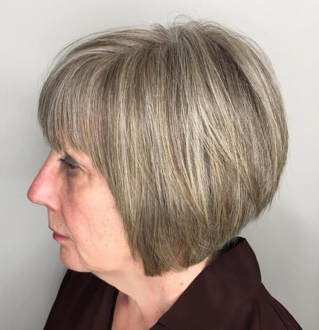 50 Cute Short Hairstyles for Women Over 60 (Updated 2021) a83946d554628c19db75493925e1abd0