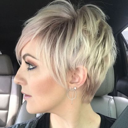 40 Pretty Short Hairstyles for Women Over 50 with Thin Hair (Update 2021) a9ad38ad97163000891bf19ea188d6ff