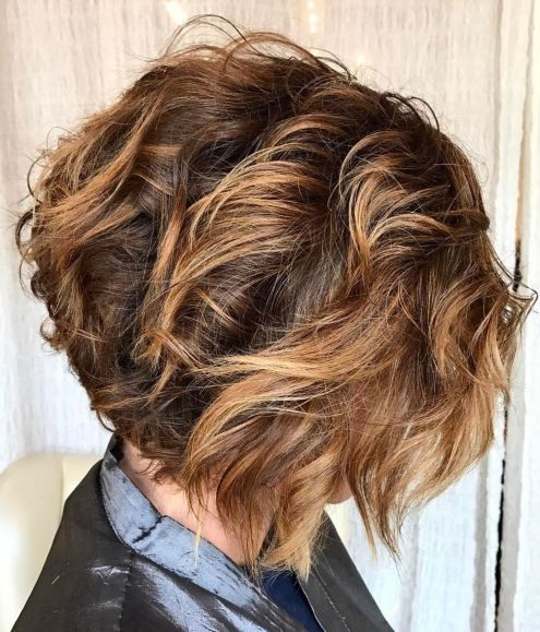 11 Types of Short Wavy Hairstyles for Women Over 50 (Updated 2021) aa9b7b20ce9fade8d44a6dd3b2f3b628
