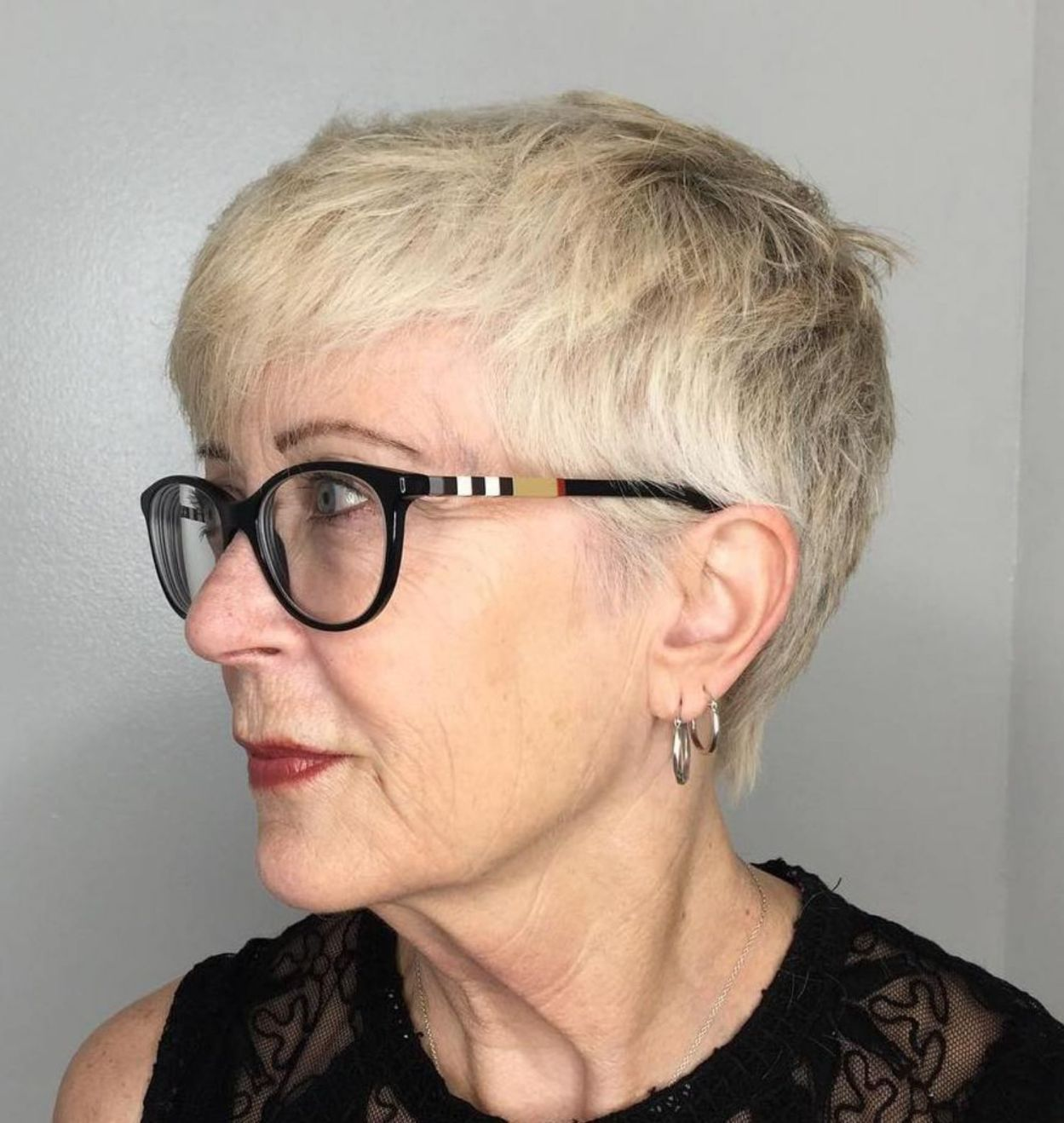 100 Short Haircut Styles for Over 60 Women in 2021 ab0d02530a45cd71130b32de696af11d