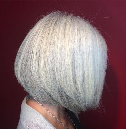 50 Cute Short Hairstyles for Women Over 60 (Updated 2021) ab0f04528bbc691b66a0f24615891762