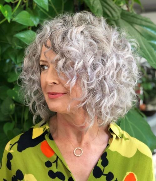50 Cute Short Hairstyles for Women Over 60 (Updated 2021) b22f8f8bb2197d194ca81cd4d0c73148