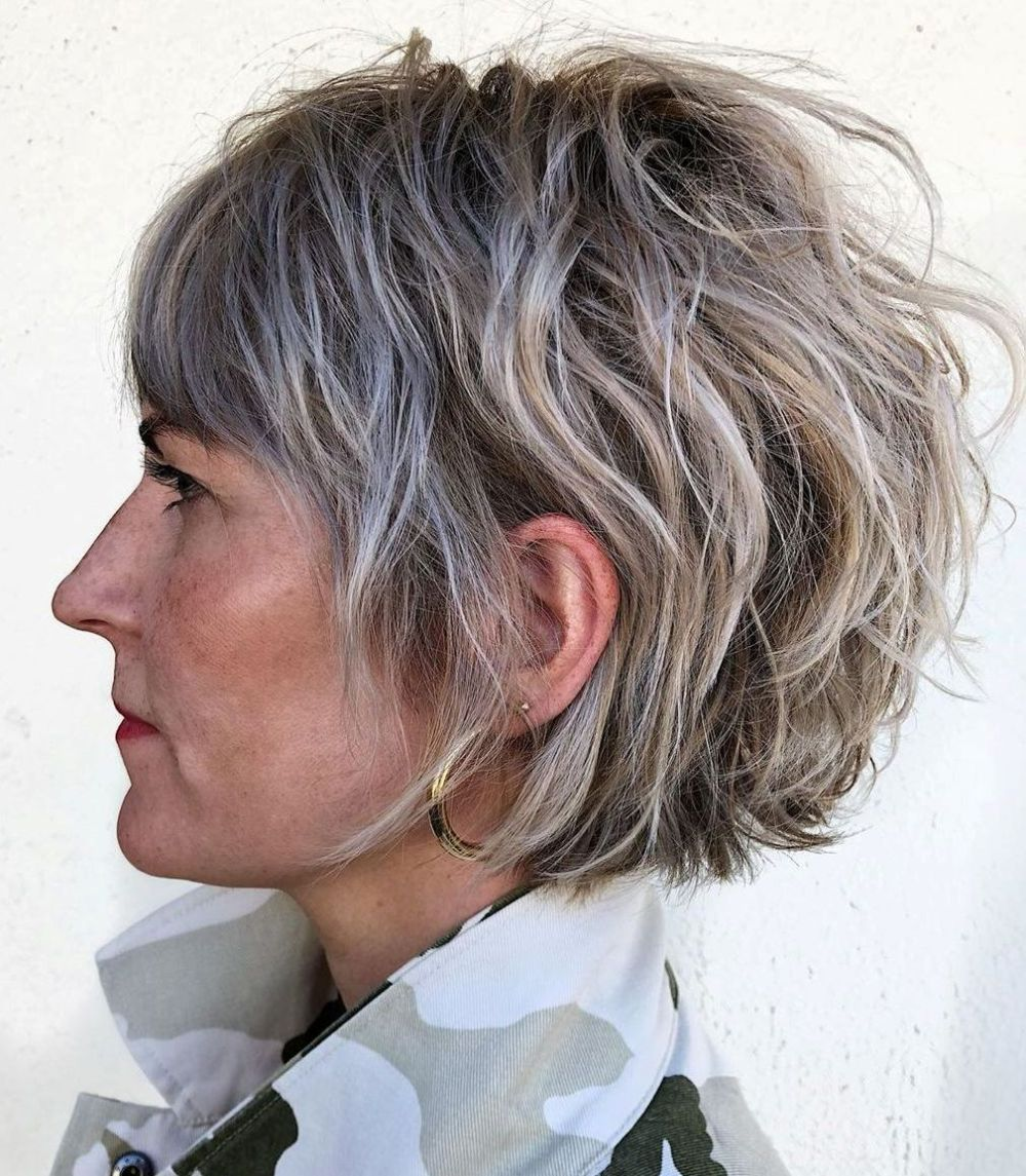 100 Short Haircut Styles for Over 60 Women in 2021 b3f452cb68d19737aa9ad6d4e8e8a1f8