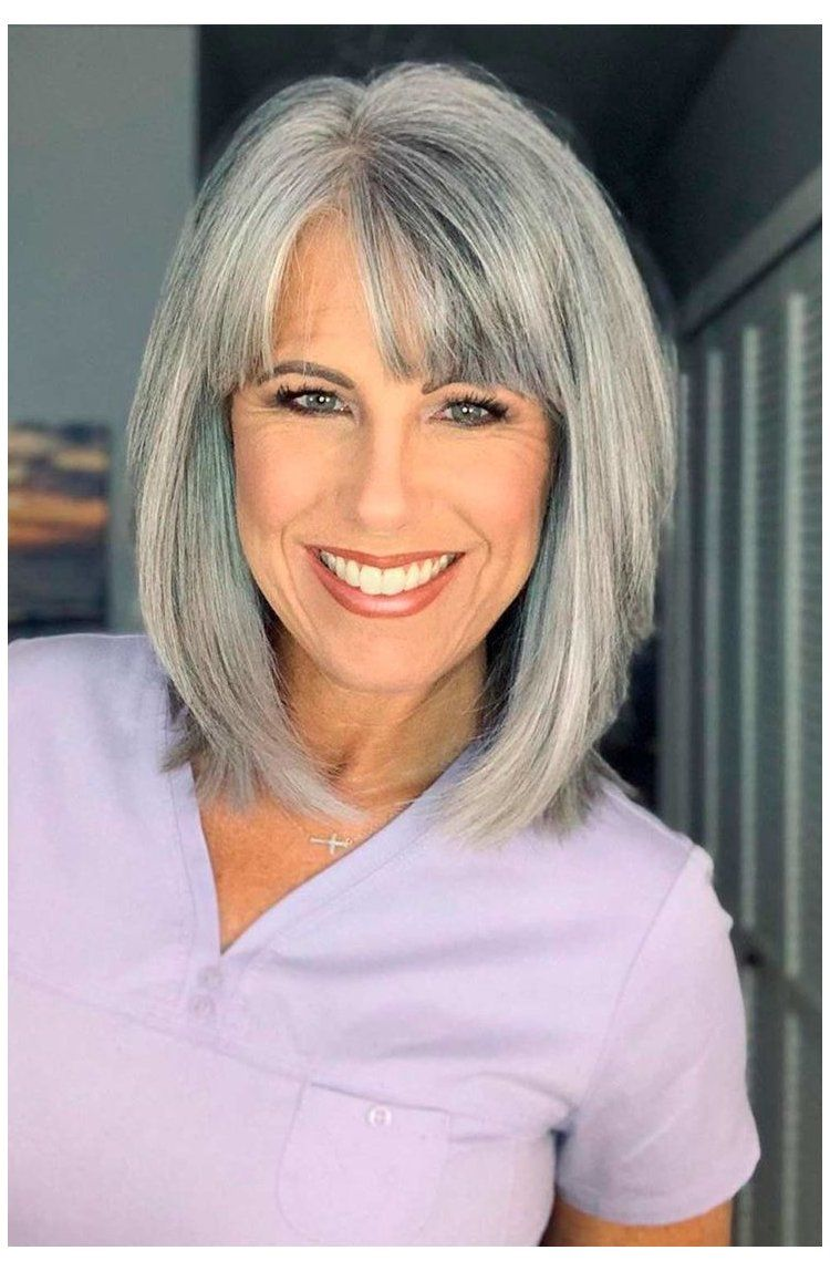 50 Cute Short Hairstyles for Women Over 60 (Updated 2021) c311bcb3beb7543319c3c195b0784dcc