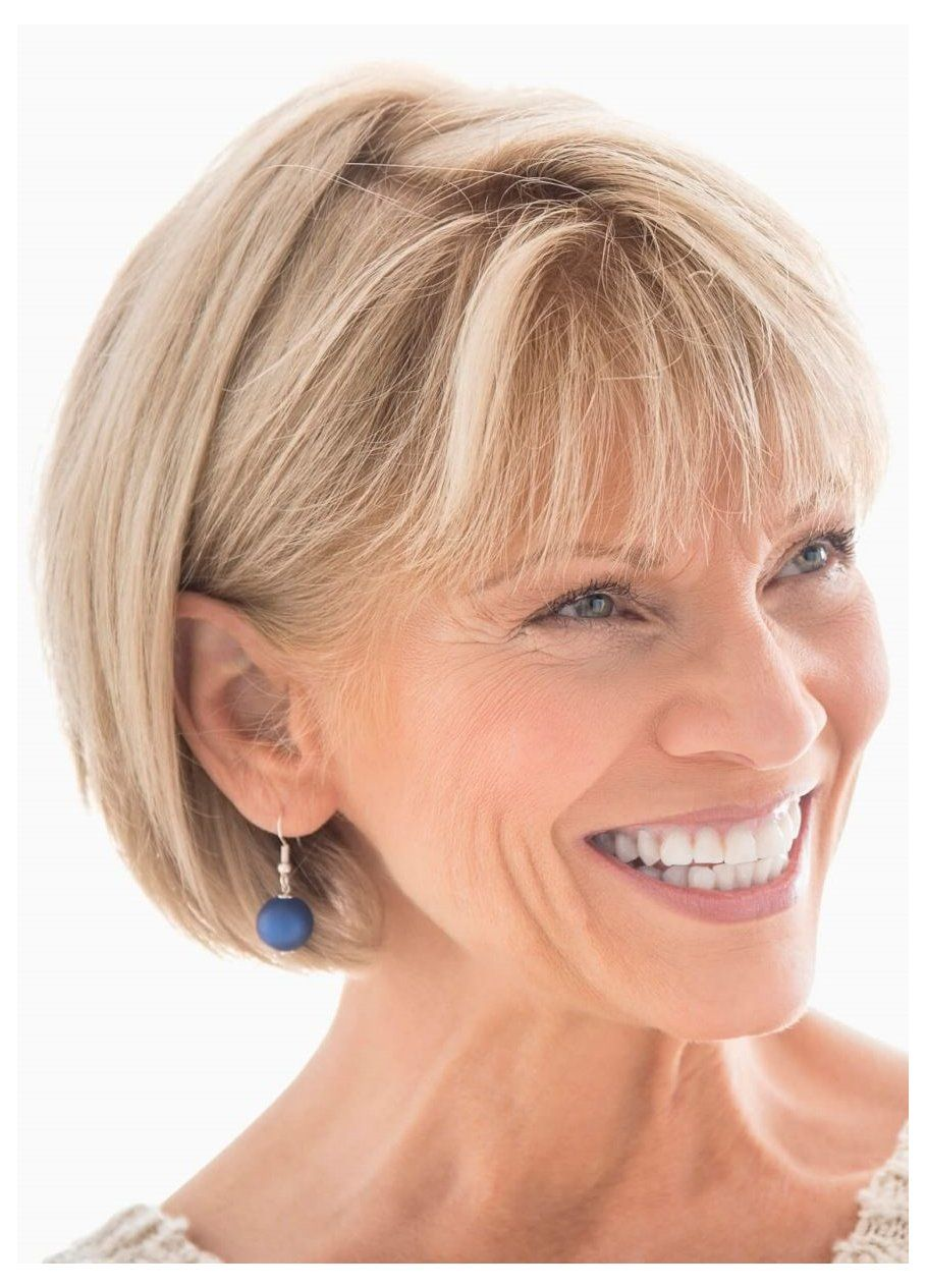 40 Professional Short Haircuts for Women Over 60 (Updated 2021) c4c645a97ac06511c16a623dec5d670b-1
