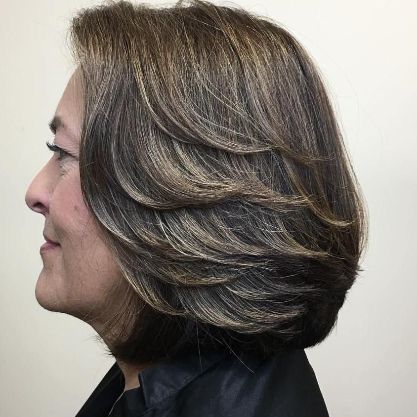 100 Short Haircut Styles for Over 60 Women in 2021 c6c6948f4449257137231198b20ebeb5