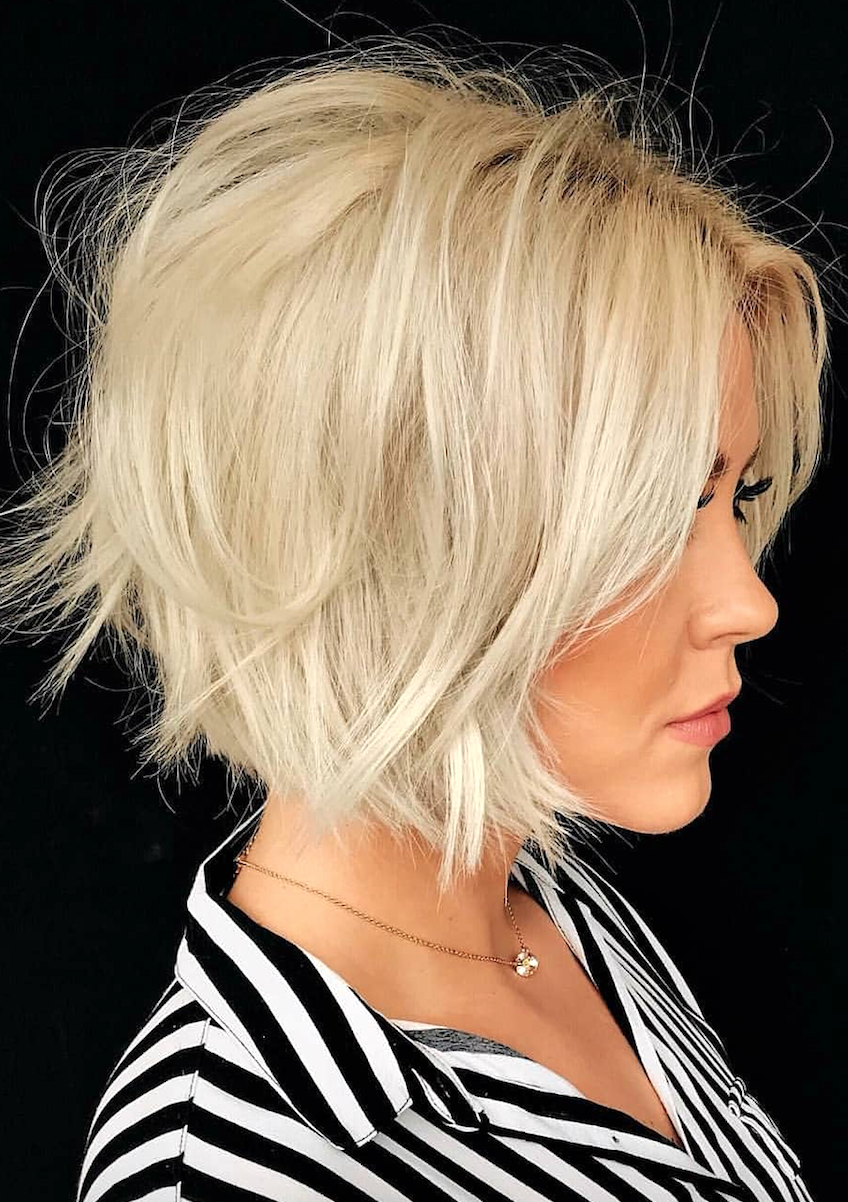 11 Types of Short Wavy Hairstyles for Women Over 50 (Updated 2021) defba90a7ad022852d2480eee34cb729