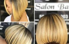 125+ Elegant Bob Hairstyles for African American Women (Updated 2021) e8a628a4334148ee1a66b440be935299-235x150