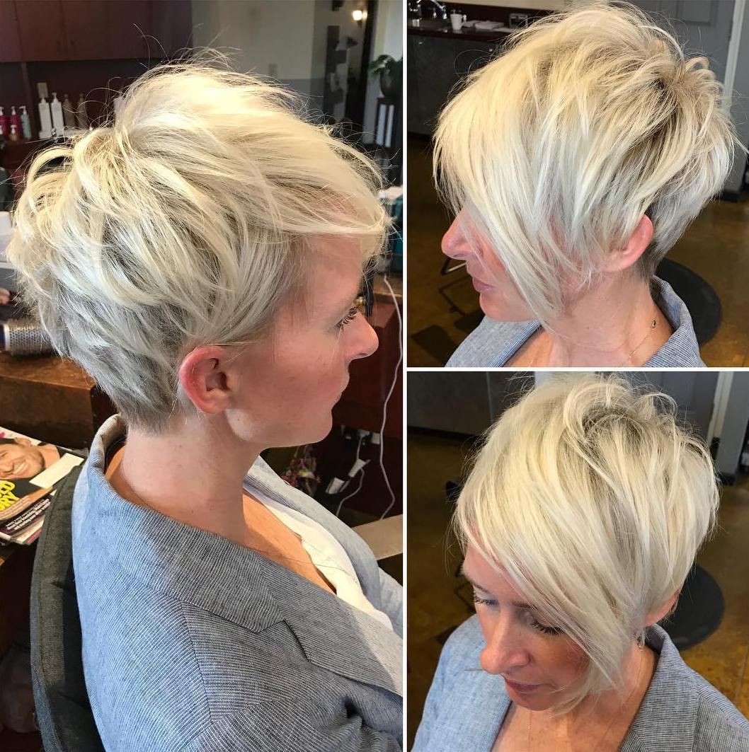 50 Cute Short Hairstyles for Women Over 60 (Updated 2021) ee90d20b84247b1e20b7532bf51330dc