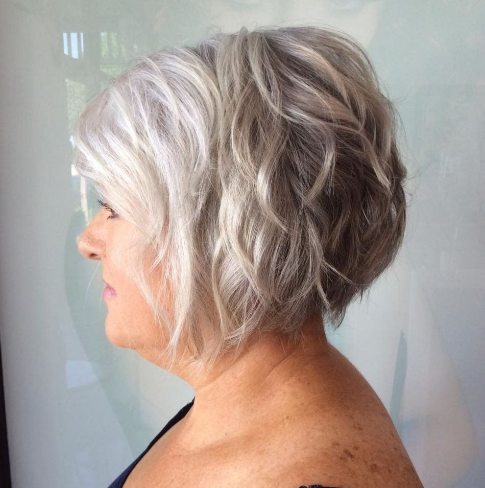 40 Pretty Short Hairstyles for Women Over 50 with Thin Hair (Update 2021) f1fd168bba28422d2b65ecffc4c09d8f
