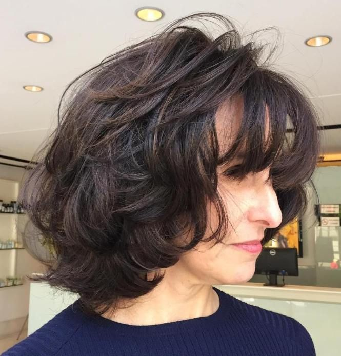 50 Cute Short Hairstyles for Women Over 60 (Updated 2021) f2b78098d330ead3cff88ac84cb1a530