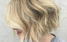 11 Types of Short Wavy Hairstyles for Women Over 50 (Updated 2021) fb89e7e1a95768e94abc09c7e88a4767-235x150