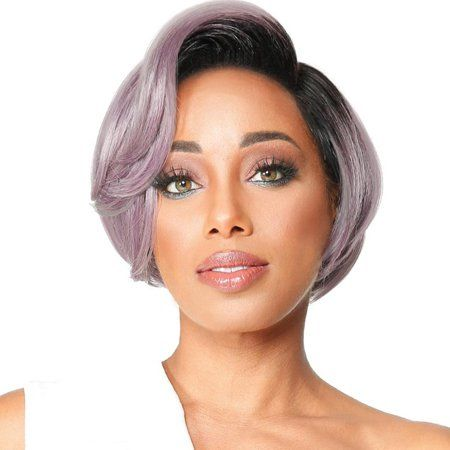 Rounded bob styles african american