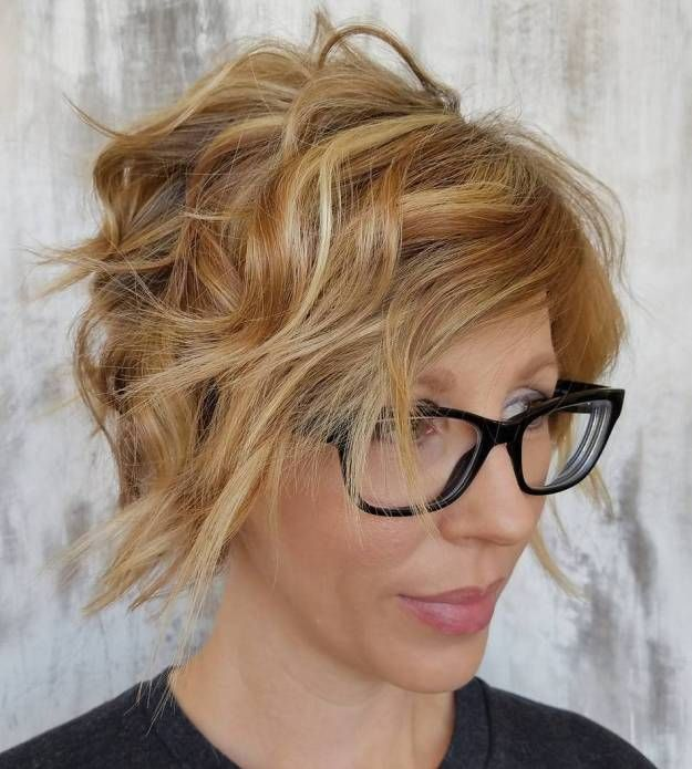 21 Short Hairstyles for Women with Grey Hair and Glasses (Updated 2021) 017520c9ac2fbe549e1b923cc87189ad