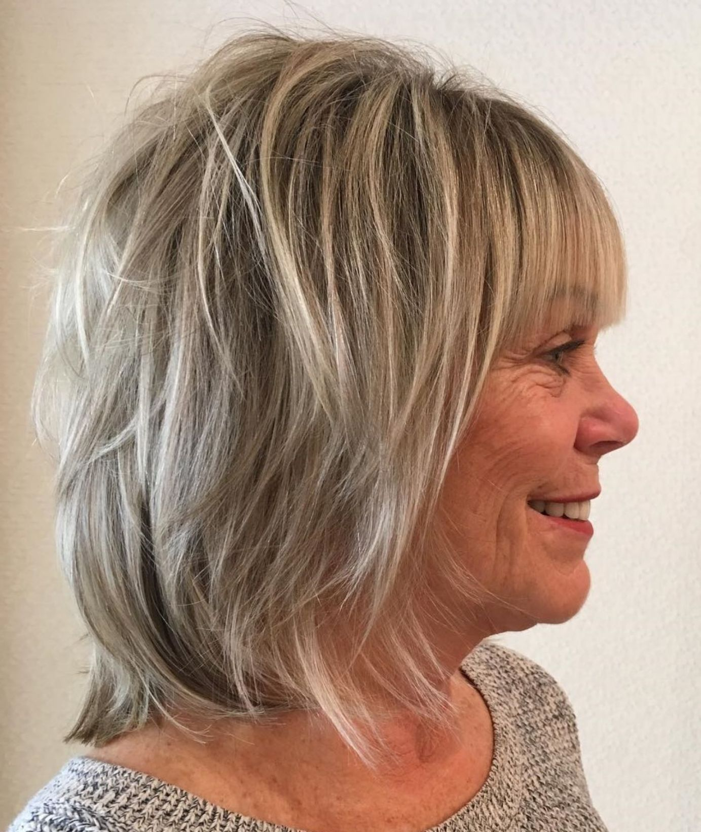 Look Fresh with Short Layered Haircuts for Older Women (Updated 2021) 0c2fa6891d49dae22462387a6f54b978