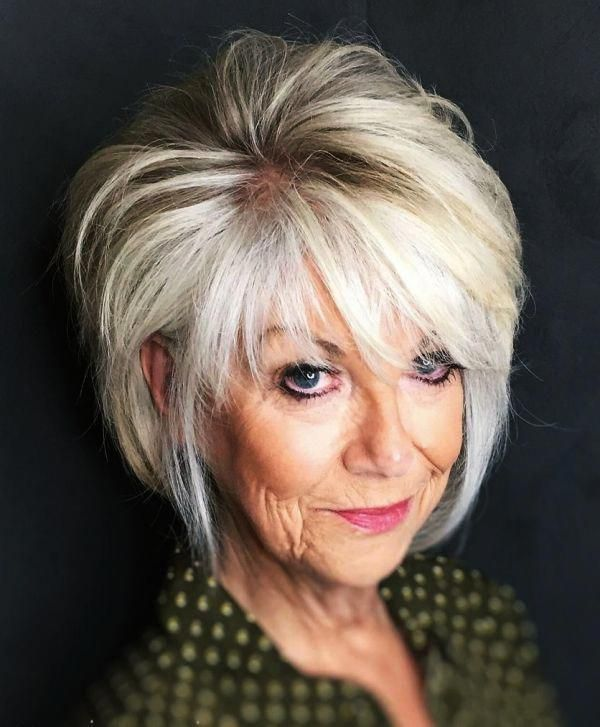 Look Fresh with Short Layered Haircuts for Older Women (Updated 2021) 2050d43afc002b1b85fd5240100475b0
