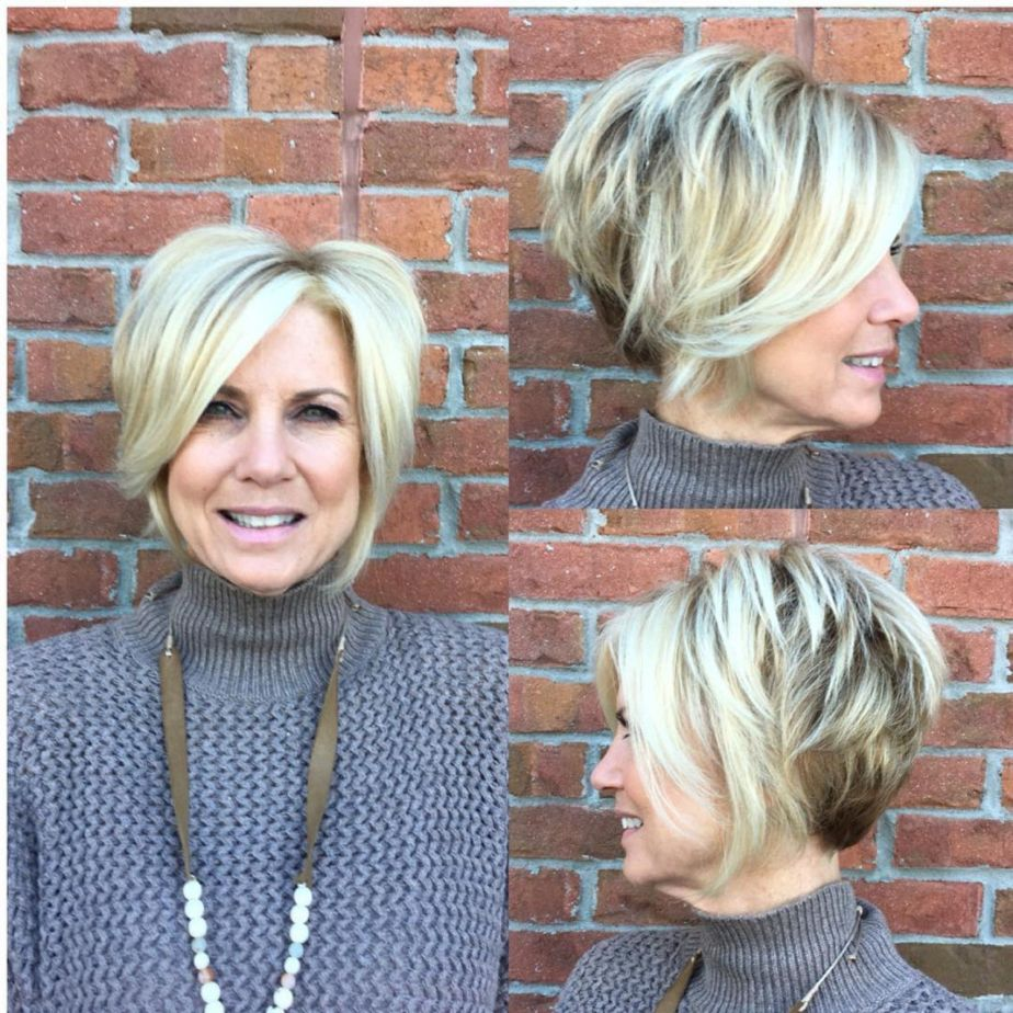 Look Fresh with Short Layered Haircuts for Older Women (Updated 2021) 2d739ba98b9f317b51eb8bbd87ea955e