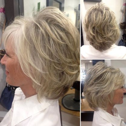 Looks Great in 60s with Cute Short Layered Haircuts (Updated 2021) 31436b6268ef7b14651601e113f651af
