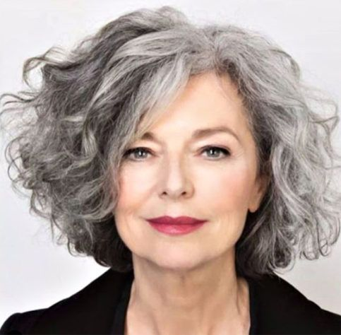 10 Stunning Short Curly Haircut Styles for Older Women (Updated 2021) 447540dba860bb577998f00499eb01e6