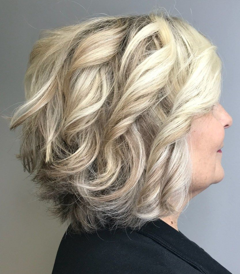 Look Fresh with Short Layered Haircuts for Older Women (Updated 2021) 49bb8cfad3b2cf6906ce012ff54f3e5a