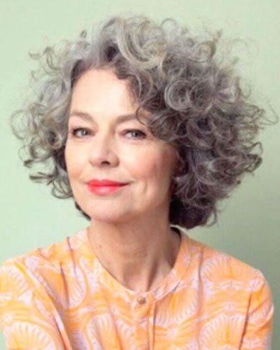 10 Stunning Short Curly Haircut Styles for Older Women (Updated 2021) 49bc83b4536c958f20471d87a47396a4