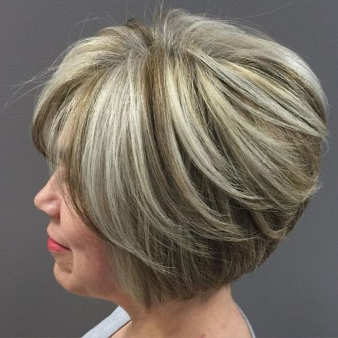 Look Fresh with Short Layered Haircuts for Older Women (Updated 2021) 4e37fb3890499fee9e58bbb1c8c687f7